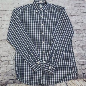 J.crew Tailored Fit plaid shirt small
